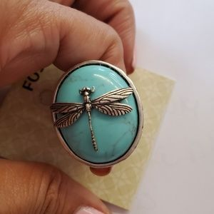 Fossil ring, new with tags